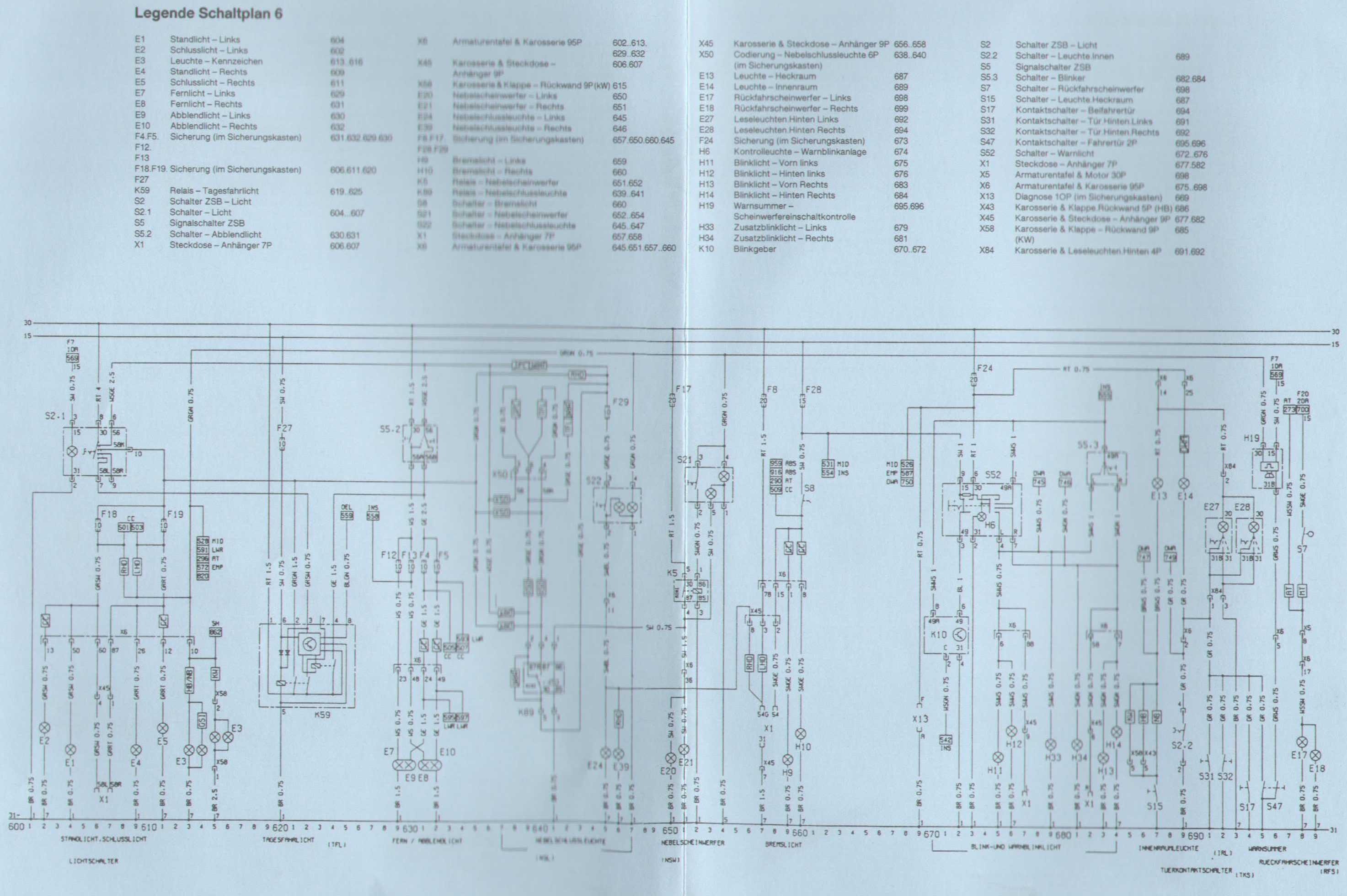 Gemütlich 7 Schaltplan Für Den Anhängerwagen Galerie - Der ...