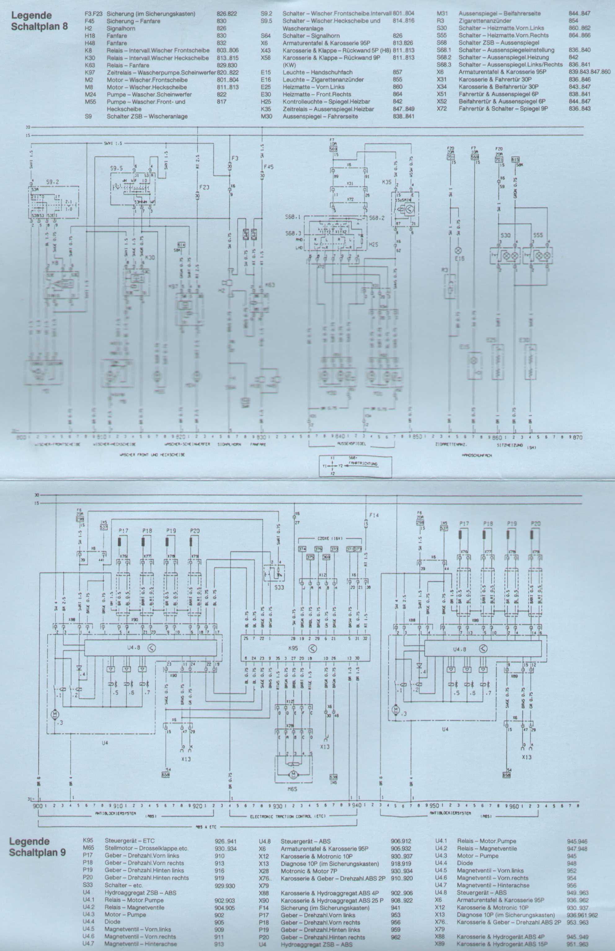 Ungewöhnlich Wischer Schaltplan Ideen - Elektrische Schaltplan-Ideen ...